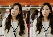 2015 kpop スタイル女の子の generationtaeyeon春秋長袖スウェット女性カジュアル ホワイト パーカー(China (Mainland))