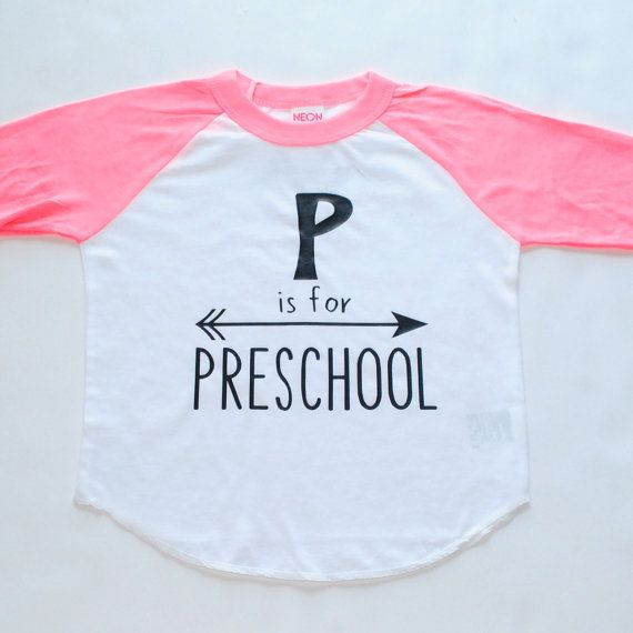 Preschool  Inspirational Alphabet  Child t-shirt  by blueenvelope