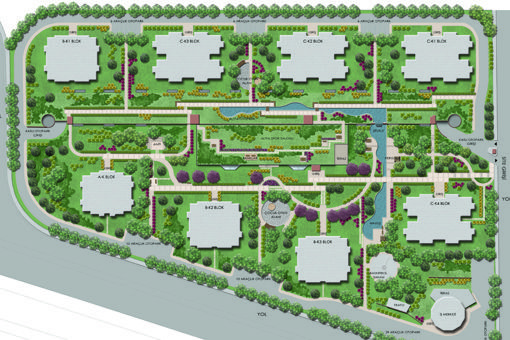 Mesa Erler Toplu Konut Alanı Kentsel Tasarım Projesi | Yapı Çevresi | Projeler | Promim Çevre Düzenleme Kentsel Tasarım