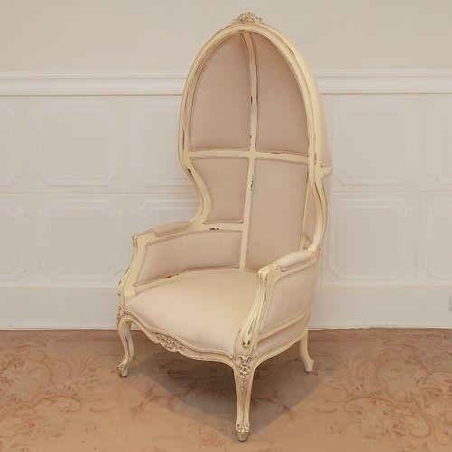 Balloon Chair – Shabby Ivory