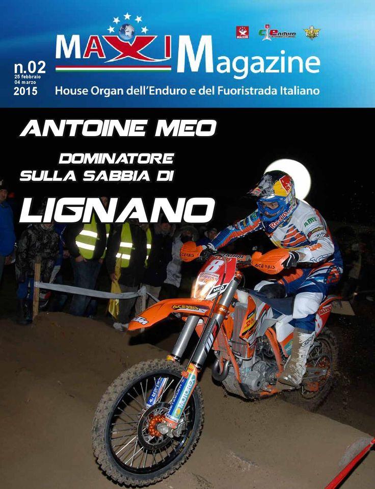 mAXImagazine n. 02 - 2015  l'House Organ dell'Enduro Italiano GRATIS per te!