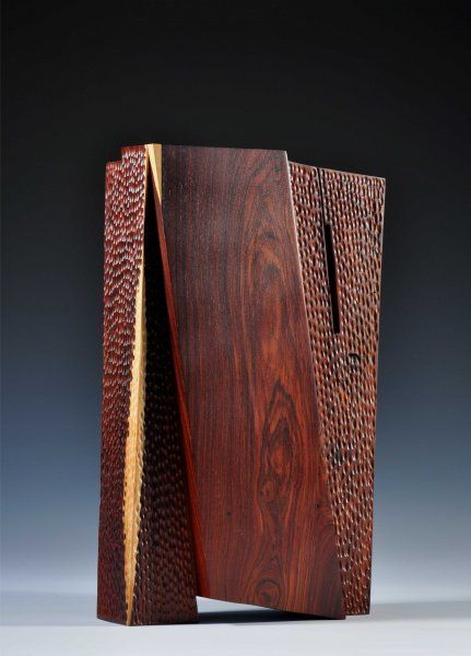 robyn horn Squeezed, cocobolo