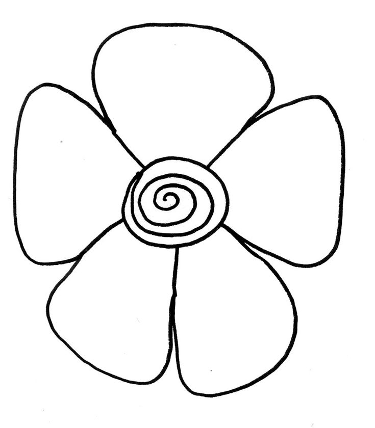 The 25 best Easy flower drawings ideas on Pinterest Flower