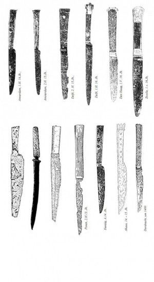 A short History of the medieval Knife