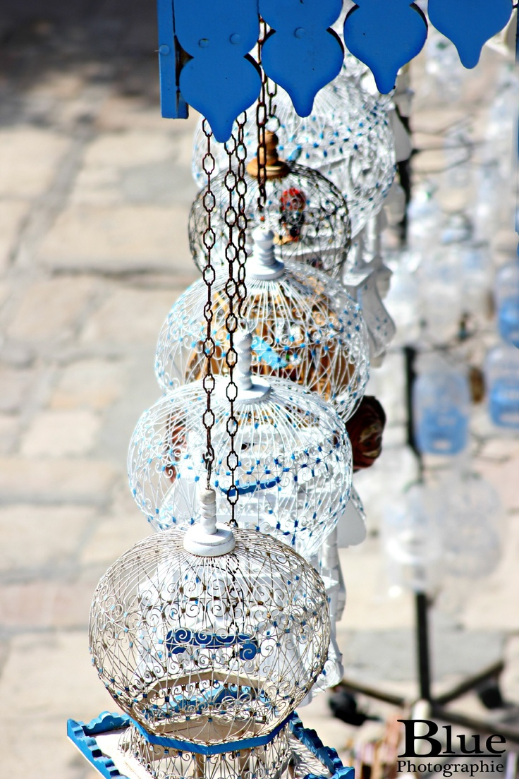 28 best images about sidi bou said on pinterest africa for Cage a oiseaux decorative