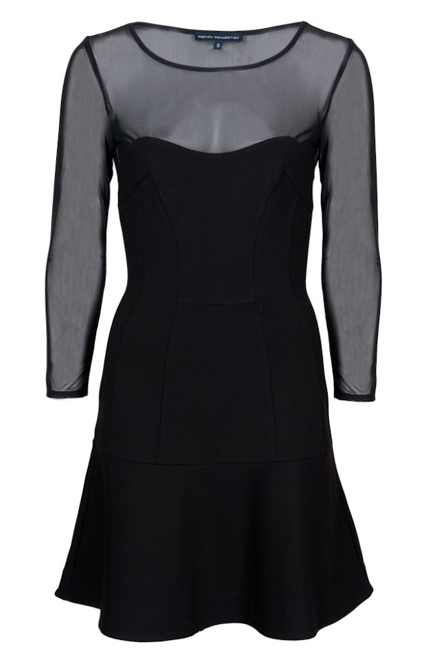 French Connection black dress #McArthurGlenStyle