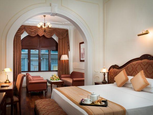 Hotel Continental Saigon - the oldest hotel in Vietnam.
