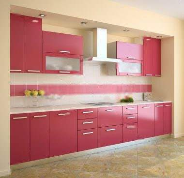 Best 25 Pink Kitchen Cabinets Ideas On Pinterest  Pink Kitchen New Design Of Kitchen Cabinets Pictures Decorating Design