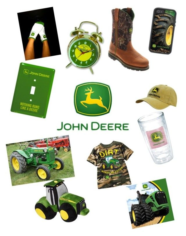 """""""John Deere"""" by mckenzieashe21 ❤ liked on Polyvore featuring interior, interiors, interior design, home, home decor, interior decorating and John Deere"""
