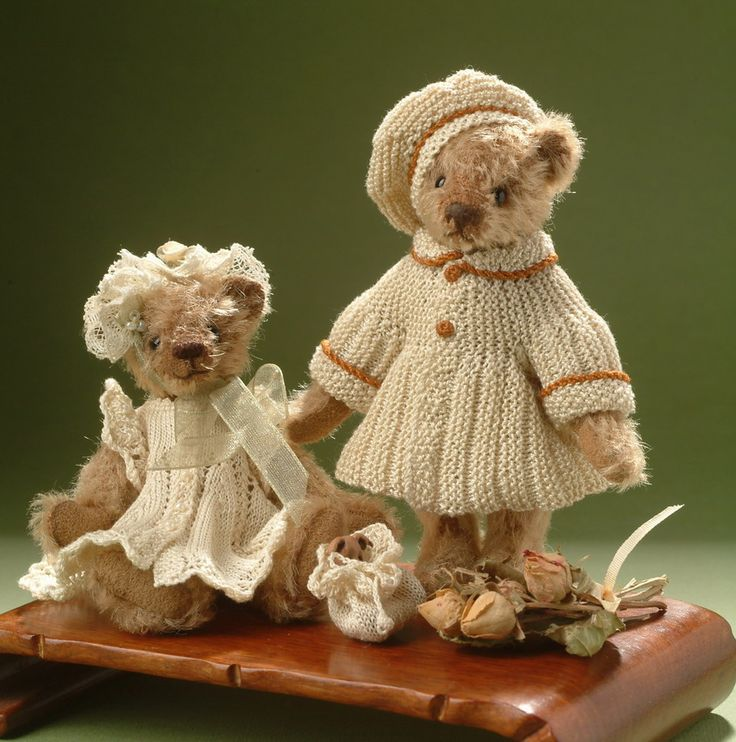 Free+Stuffed+Teddy+Bear+Patterns | Chrystal's Designs: Patterns for Teddy Bears