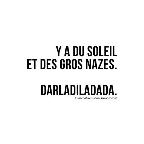 Y a du soleil et des gros nazes - #JaimeLaGrenadine
