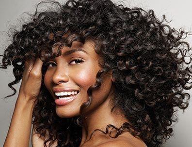"Curly hair don't care <3 Brazilian deep curl 10""10""8"" www.fabulousxtensions.com"