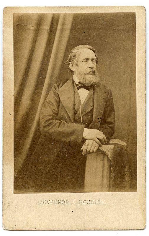 Kossuth Lajos Edinburgban John Moffat fényképe talán 1857-58 -as évek | by molnarattika