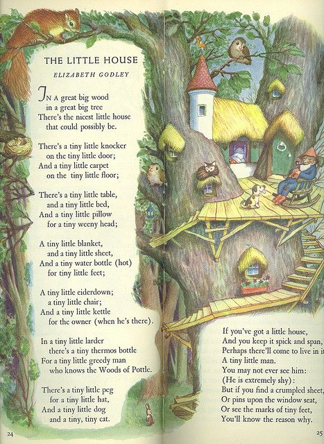 From The Tall Book of Make Believe  Selected by Jane Werner  Pictures by Garth Williams  Copyright 1950 I soooo wish they would republish this book.