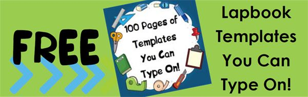 Lapbook Templates you can TYPE on!!!: Free Templates, Templates Free, Homeschool Shared, Shared Blog, Lapbook Ideas, Templates Image, Lapbook Templates, Free Lapbook, Homeschool Lapbook