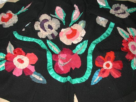 Karen Nicol  ribbon work