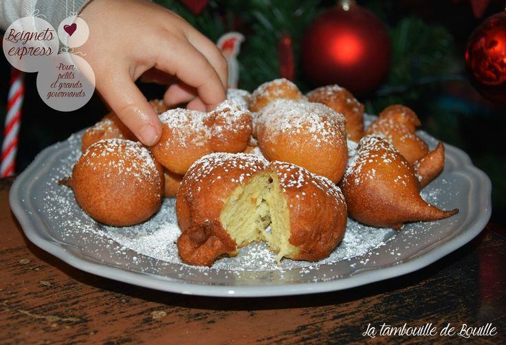 Beignets express pour petit(e)s et grand(e)s gourmand(e)s