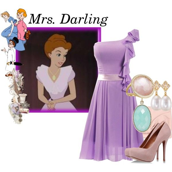 """Mrs. Darling"" by krmg08 on Polyvore"