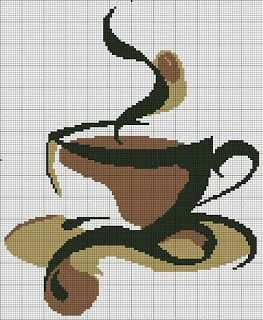 Points de croix *@* cross stitch Café