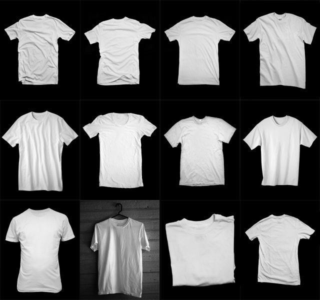 30+ Blank Mock-Ups & More! UPDATED 03-08-13   Threadless