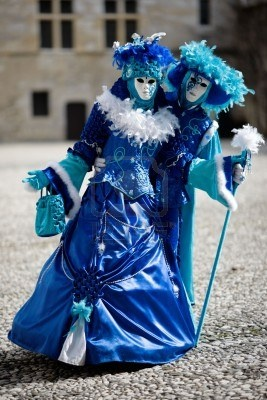 carnival costumes and masks