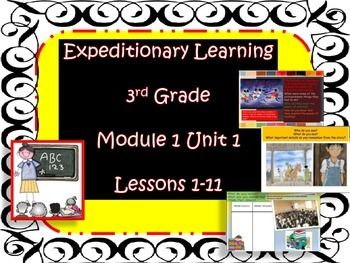 Engage NY Expeditionary Learning PowerPoint 3rd Grd Module