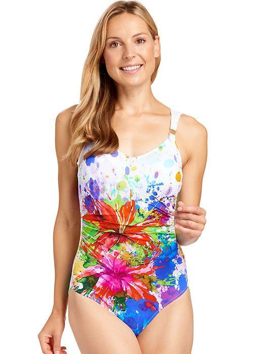 ea6c072f45 Feraud Sundance Soft Cup Swimsuit   Floral inspired swimwear ...