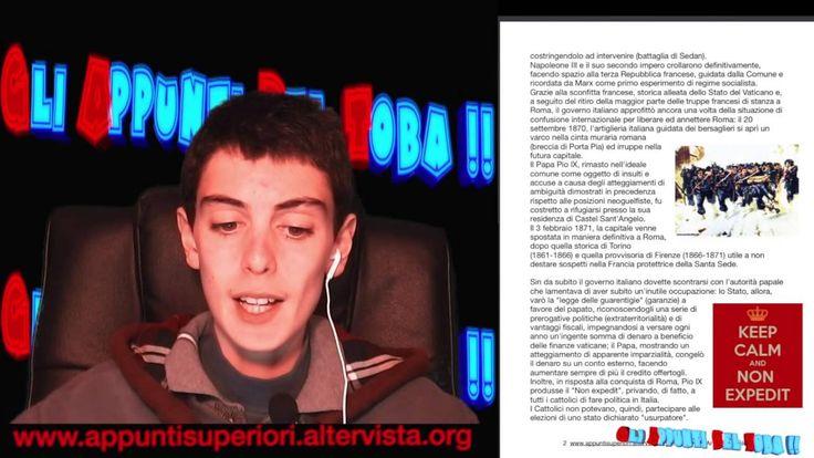 Il completamento dell'unificazione italiana e la breccia di Porta Pia by...