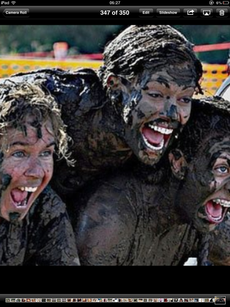 Mud monster - looking good girls!