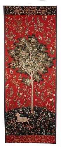 Oak Tree tapestry - medieval tapestries