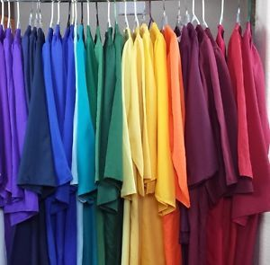 Lot of Graduation Gowns Matte Choir Robe Costume Theater Specify Color Height  | eBay