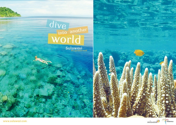 Sulawesi Tourism Campaign by ines aryaniputri, via Behance