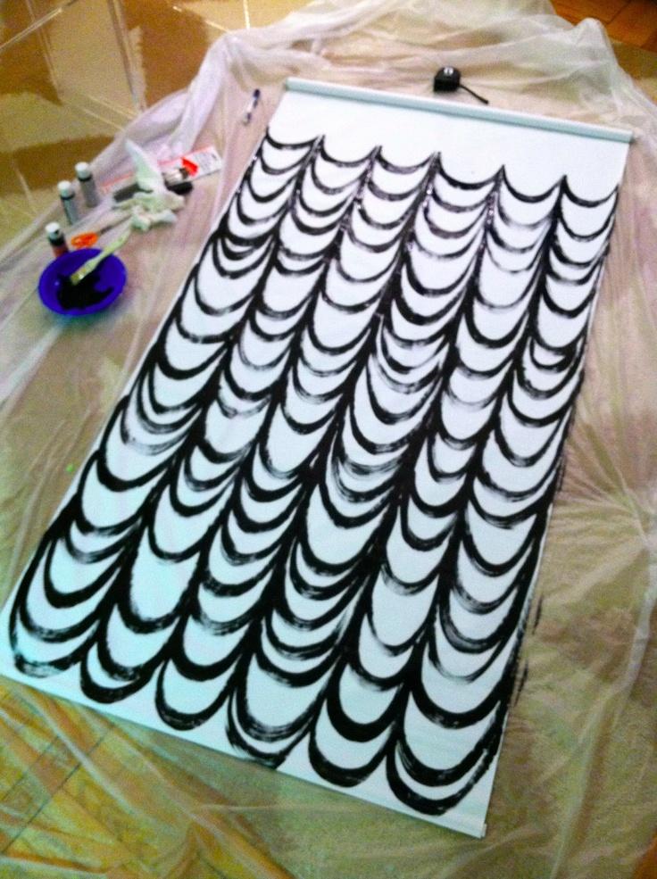 IMG_2680.jpg 1,195×1,600 pixels Roller vinyl shade from Home Depot Paint black on backside