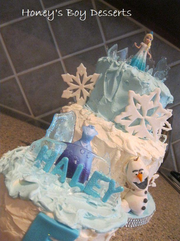 Frozen cake design