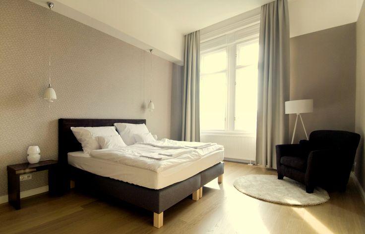 #master bedroom   #budapest apartment #egyetem tér #váci utca