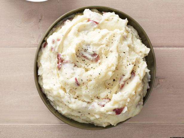 Parmesan Smashed Potatoes recipe via #FNMag #FNThanksgiving