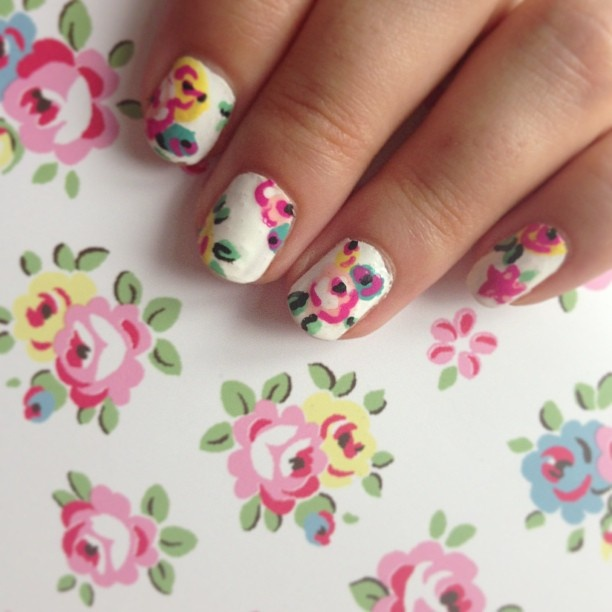 Nail Arts By Rozemist Cath Kidston Vintage Inspired: 42 Best Images About Cath's Nail Art On Pinterest