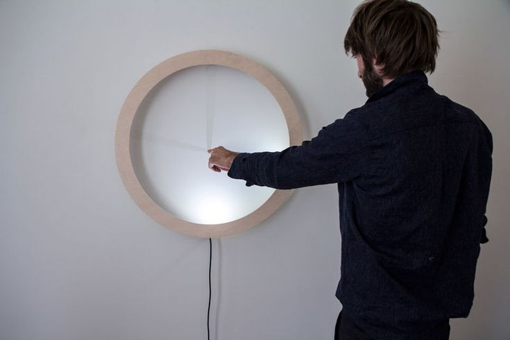 Interactive Shadow Clocks - The 'Shadowplay Clock' Tells Time Using a Circle of Light (GALLERY)