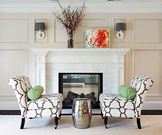 These fireplaces refreshes will inspire your own makeover.