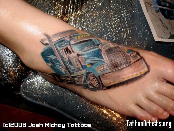 123 best skin ink images on pinterest big trucks custom trucks and semi trucks. Black Bedroom Furniture Sets. Home Design Ideas