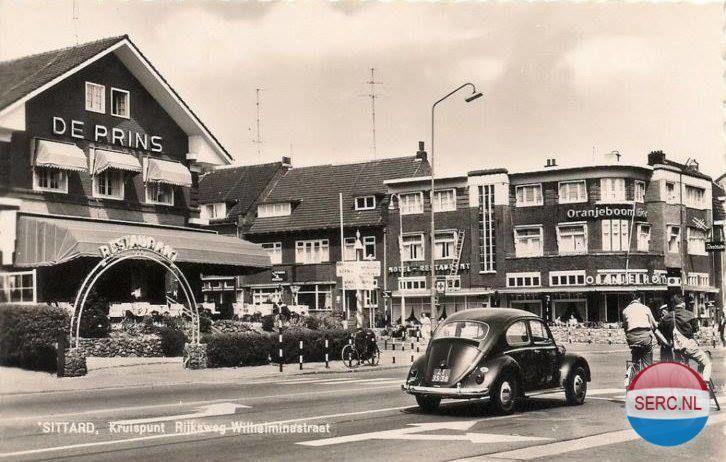 Wilhelminastraat Sittard (jaartal: 1960 tot 1970) - Foto's SERC