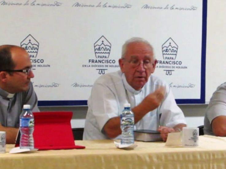 Cuba. Mons. Aranguren Brinda Informacion sobre Visita Papal a los Medios de Comunicación Tuneros | Papa Francisco en Cuba