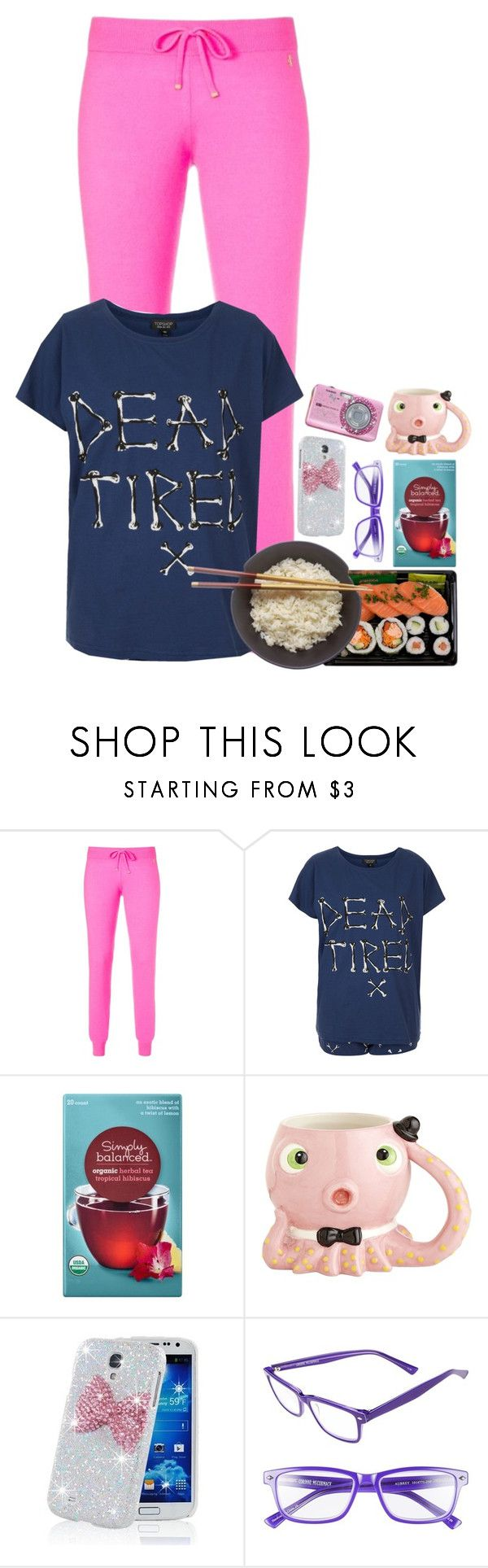 """sushi"" by emmzizleez888 ❤ liked on Polyvore featuring Juicy Couture, Topshop, Pier 1 Imports, Samsung, Hello Kitty, Corinne McCormack and vintage"