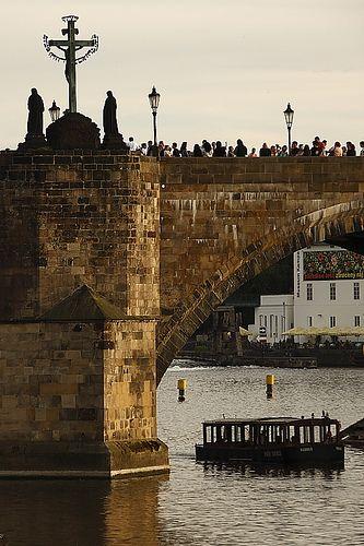 Puente de Carlos. Praga