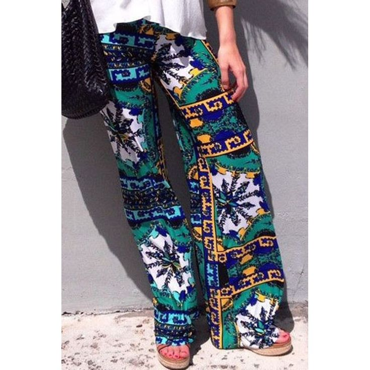 Printed pants take on a relaxed silhouette for the new season, with leisure tailoring setting the trends. Pick Hawaii Holiday Print Leisure Flared Pants for a dramatic holiday look and tone down with a basic tee. Made of soft quality fabric always guarantee comfortable fit. A perfect outfit for s