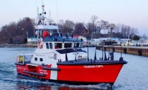 The Canadian Coast Guard has opened stations across the Great Lakes