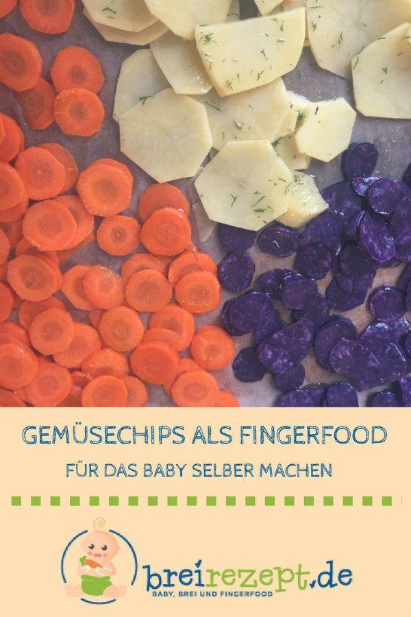 Gemüsechips   – Breifreie Rezepte (BLW)