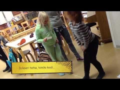 alkeiskoodausta - Vuokko Kankaan (Oulun norssi) videot koodauksesta
