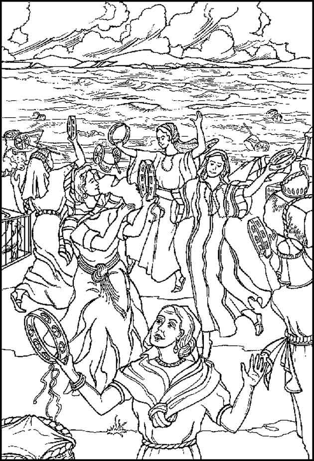 Coloring Picture Of David Dancing Before The Lord Pictures