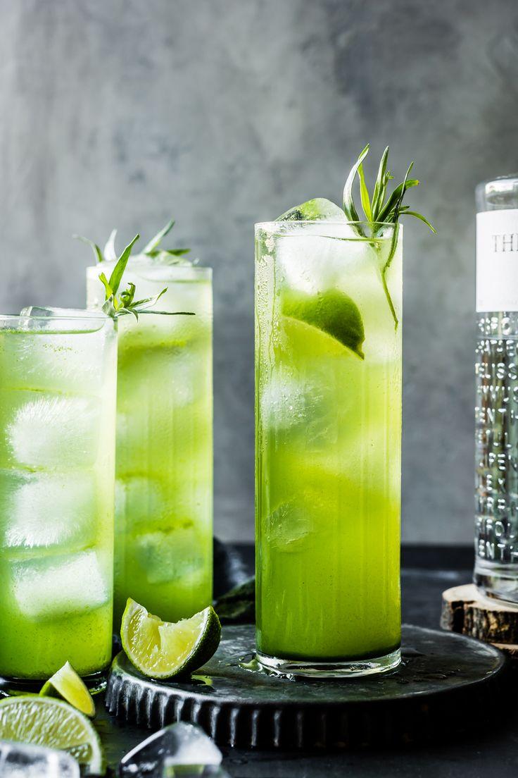 Tarragon Gin and Tonics